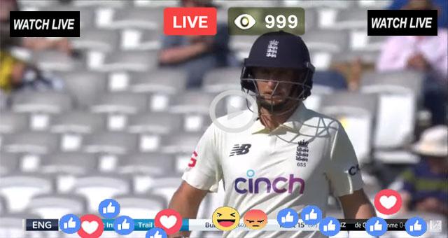 India vs England Live Test Match 2021