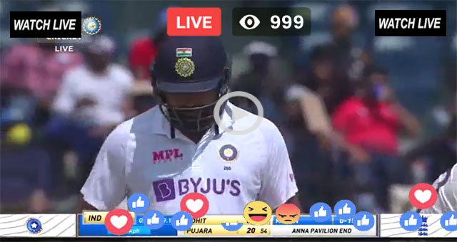 India vs Eng Live 1st Test Match Day 3