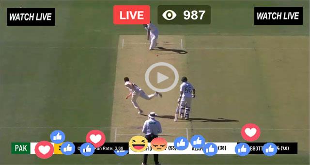 PAK vs WI 2nd Test Match Live