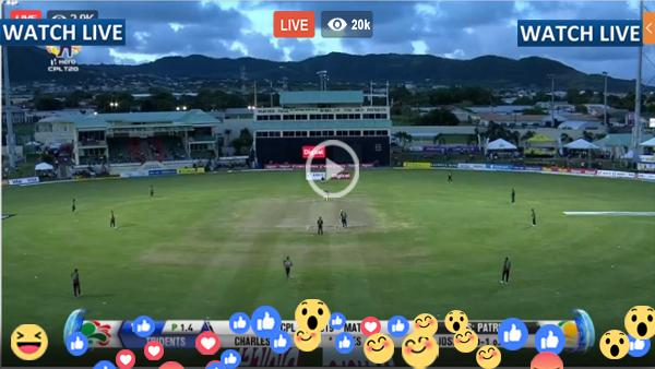 CPL T20 Live Match