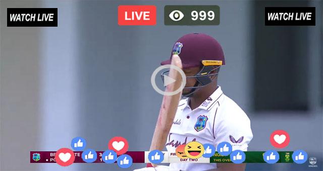 Pak vs WI Test Live Match