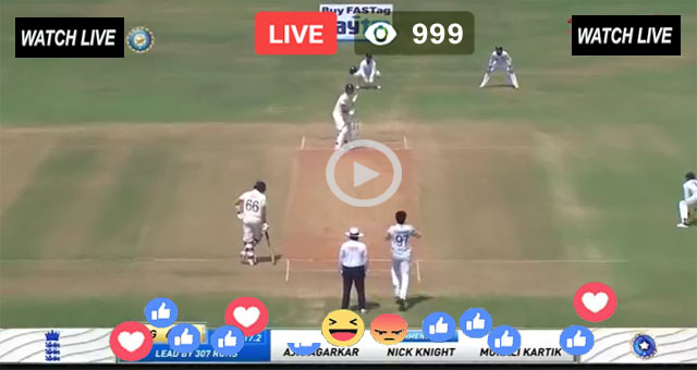 IND vs ENG 4th Test Match Live