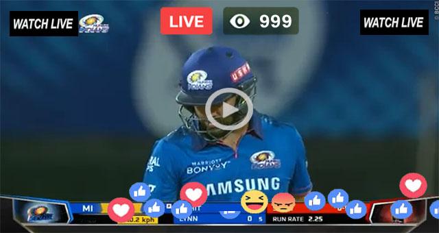 IPL Live Streaming 2021    MI vs KKR Live