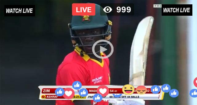Ireland vs Zimbawe Live 1st ODI