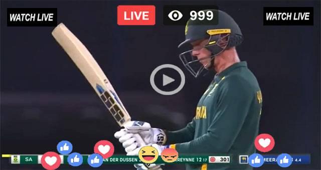 Sri Lanka Vs South Africa 2nd ODI Live
